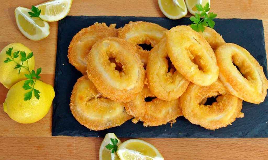 calamaras a la romana tapa popular na espanha
