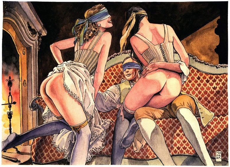 as mulheres de milo manara
