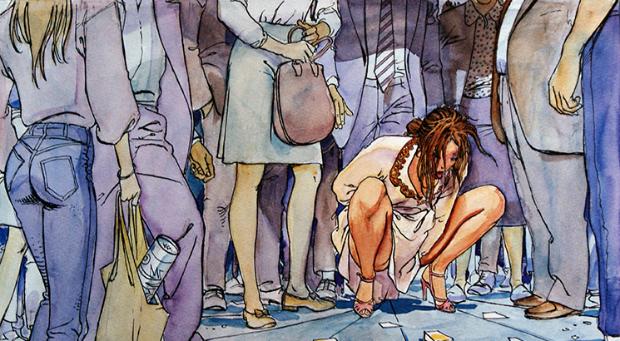 o click revista erotica desenhada por milo manara nos anos 70