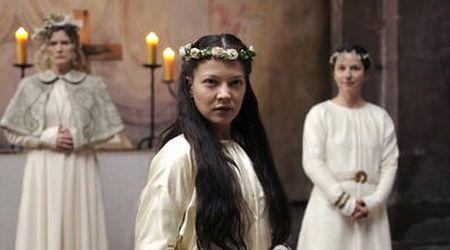 """santa Hildegarda von bigen interpretada por Bárbara Sukowa no filme """"Visión"""""""