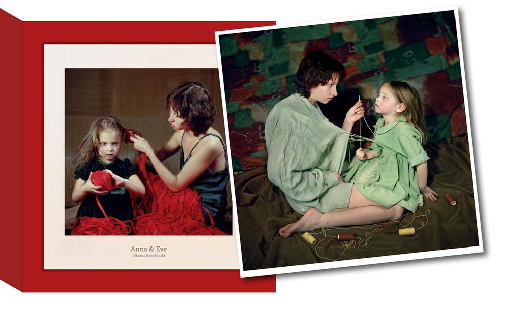 viktoria sorochinski livro de fotografias da serie anna & eve