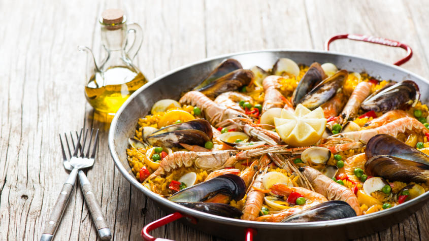 turismo gastronomico na espanha paella