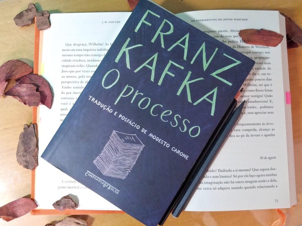 livro o processo de fran kafka tradução de modesto carone em portugues