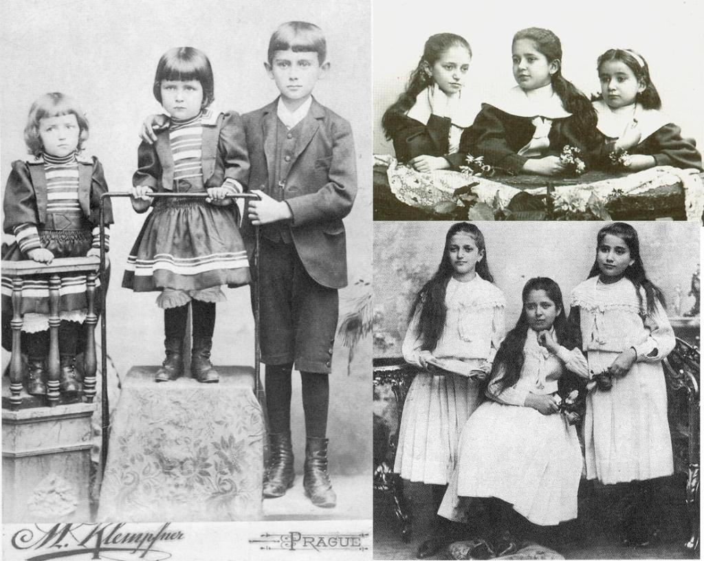 familia kafka - franz e irmas